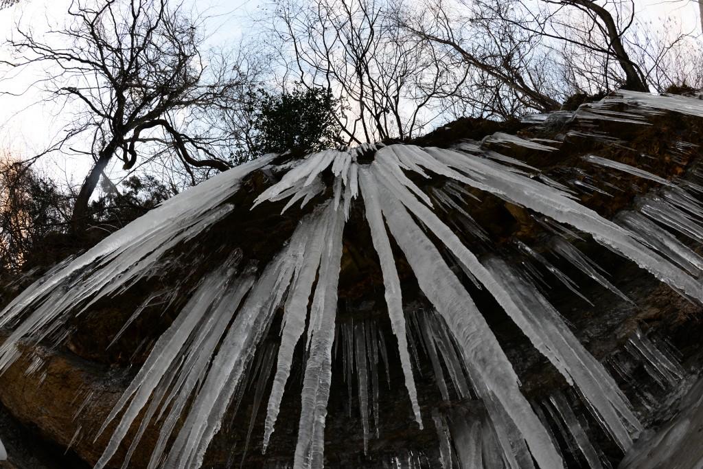 ―厳寒の風物詩― 「相馬宇田川氷柱群」