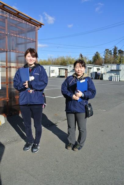 大熊町社会福祉協議会いわき事業所におけるベストコンビによる生活支援相談員訪問活動の一コマ