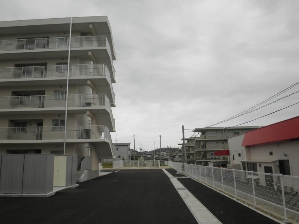 いわき市小名浜下神白の災害公営住宅、復興公営住宅