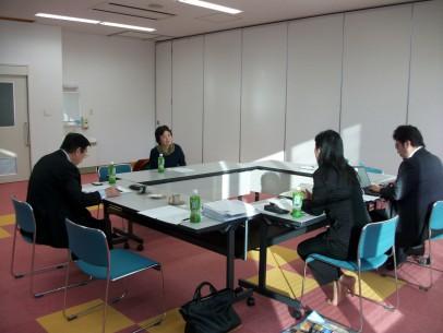 避難者支援中期ビジョン策定のヒアリングに川内村社協へ同行訪問!