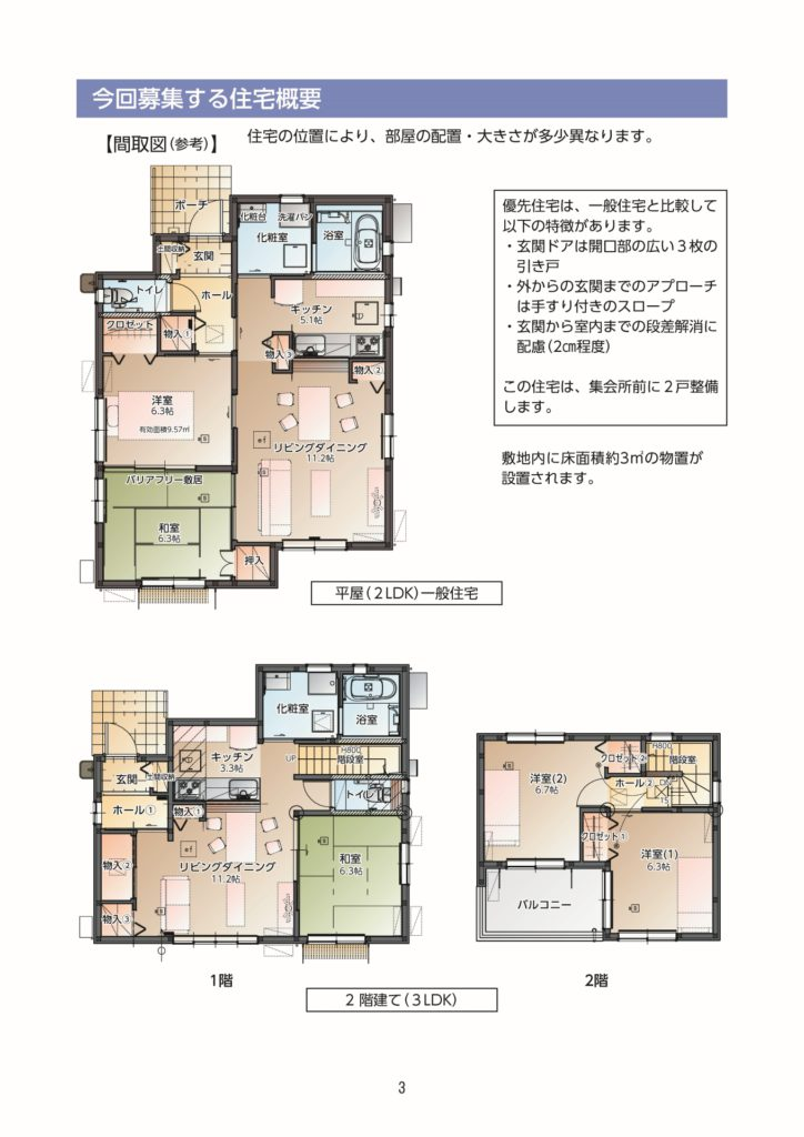 富岡町災害公営住宅の入居者募集