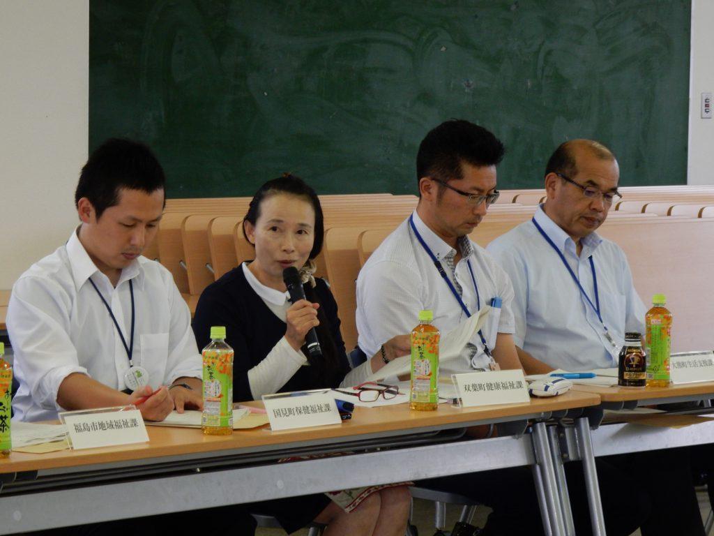 県内8地区で避難者生活支援連絡会を開催しています。